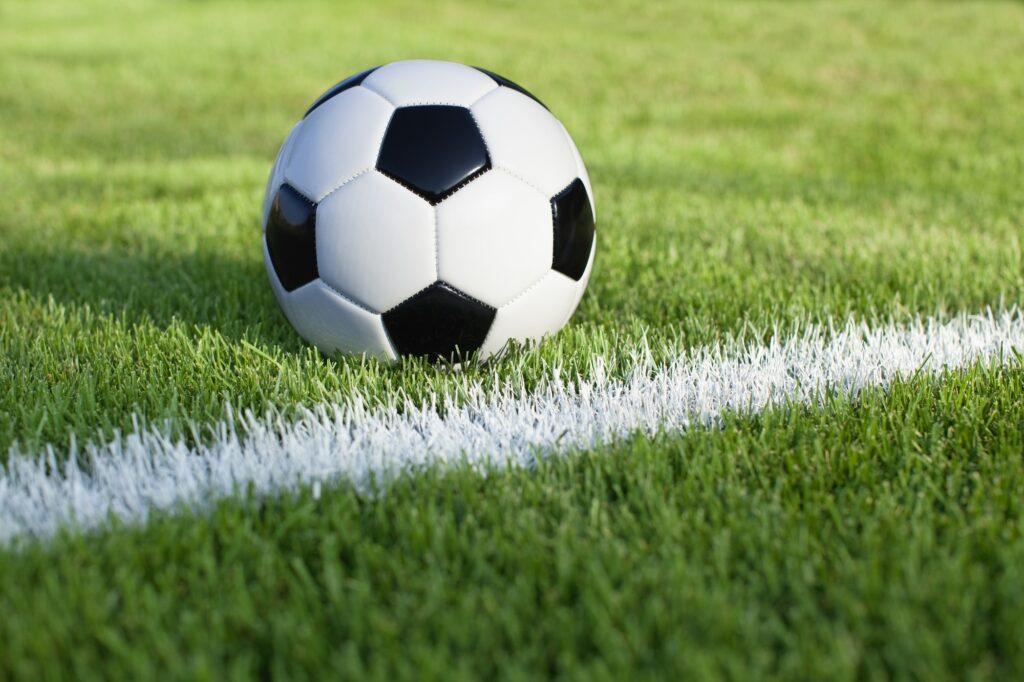 Piłka na trawie